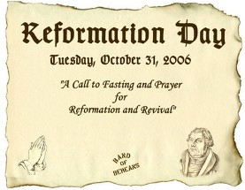 Reformation Day